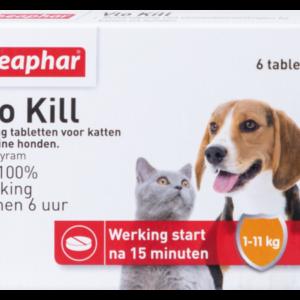 Beaphar Vlo Kill tot 11 kg kat en hond