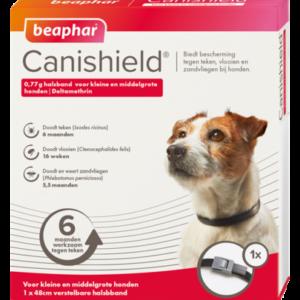 Canishield halsband hond klein - middelgroot