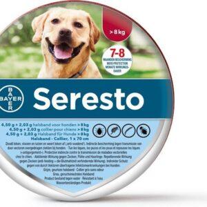 Seresto Vlooien En Tekenband Grote Hond meer dan 8 kg